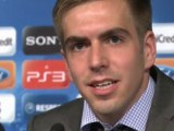 Lahm wary of Marseille threat