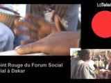 POINT ROUGE # 31 DU FORUM SOCIAL MONDIAL À DAKAR
