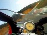 Battle run a Ales Jeremy la grenouille (ZX6R) JM la glisse (KTM 990 SMT) Lolo supermot 'Ducati hypermotard) et Moi (Benelli Tornado 900 Tre)