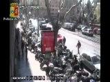 Roma - Arrestato un rapinatore dopo una rapina in Via Alessandria (29.03.12)