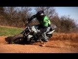 Extrem Triumph Street Triple OffRoad - Julien Welsch - Streetbike motocross