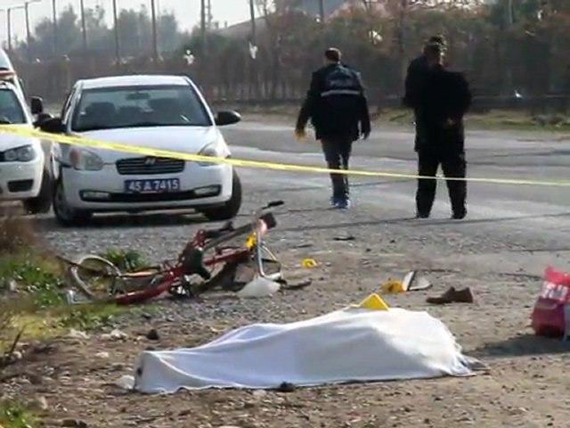 Akhisar Sağlık Meslek Lisesi Önünde Kaza 1 Ölü