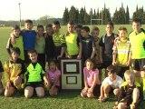 Le Bouclier du Challenge Grégoire de retour dans la ville grâce aux exploits sportifs de tous les élèves de la MJC XIII :