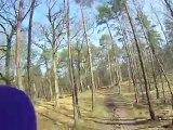 CIC* de Fontainebleau 2012 : le parcours de cross en caméra embarquée