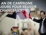 François Hollande - un an de campagne