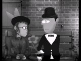 animation 2d en noir et blanc - le rendez-vous