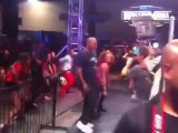 Mike Tyson is part of WWE Divas Eve and Layla's flash mob at WrestleMania Axxess!