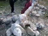 فري برس ادلب جبل الزاوية دير سنبل مكان سقوط احدى القذائف