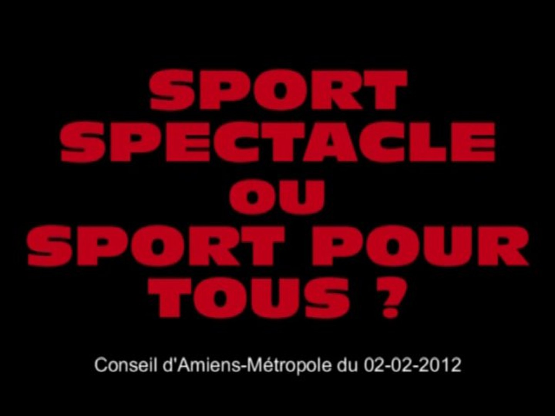 Sport spectacle ou sport pour tous ?