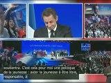 Discours de Nicolas Sarkozy : rassemblement des jeunes pour la France forte