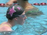 La nageuse américaine Missy Franklin, 16 ans, en route vers les JO de Londres