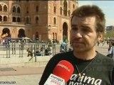 Protesta antitaurina frente a Las Ventas de Madrid