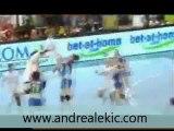 Oltchim Valcea - Györ / Ligue des Champions Féminine Handball / But magnifique Andrea Lekic