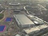 London 2012 Olympics Media Centre Ariel Views