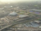 London 2012 Olympics Olympic Park Ariel Views