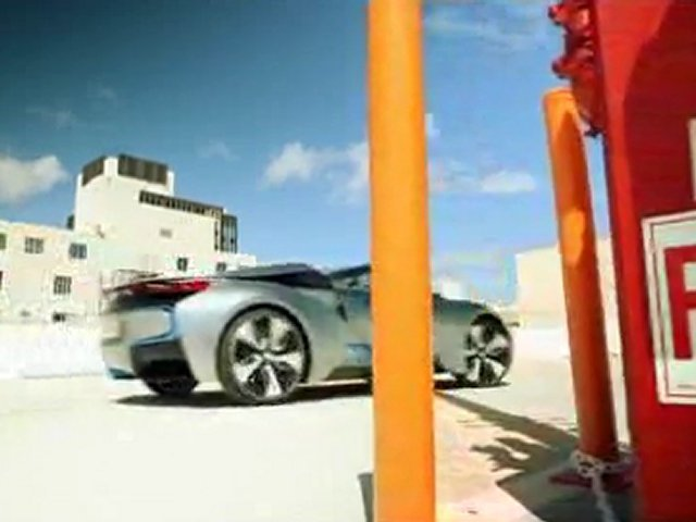 BMW Presents BMW i8 Concept Spyder