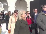 Arrivals at Ermanno Scervino Fall 2012, Milan FW | FashionTV