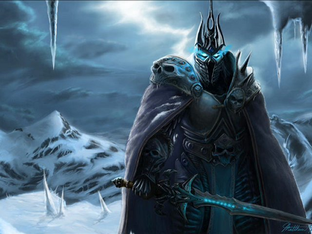 WoW : Arthas en français (Arthas Lich King french voice)
