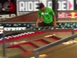 Le skateur sans jambes au Tampa Pro 2012