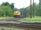 CSX coal train fOSTORIA oHIO
