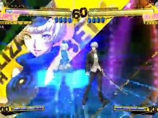 Elizabeth Gameplay de Persona 4 Arena
