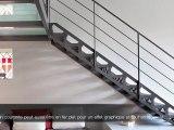 ESCALIERS DECORS - Escalier Charpente - Style San Francisco