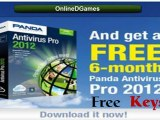 Panda Antivirus pro 2012(Activation Code For 6 Months) +Panda Internet Security 2012 key