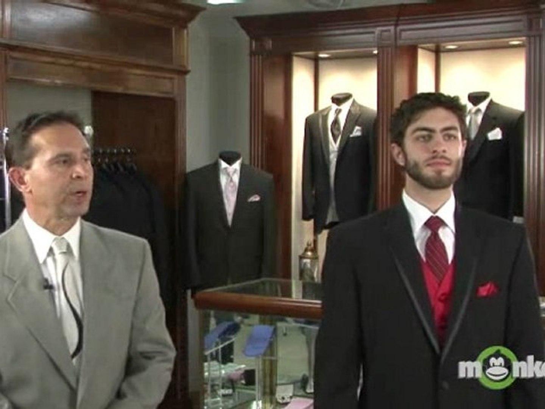 Baby - 20T Classykidzshop Formal Black Tuxedo with Tail Cummerbund Bowtie Suit