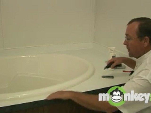 Caulking & Sealing-Preparation for Bathtubs