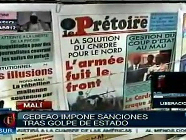 CEDEAO impone sanciones contra Malí tras golpe de estado