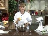 Lemon Angel Food Cake - Flavoring the Cake and Combining Ingredients