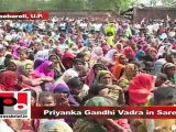 Priyanka Gandhi Vadra in Sareni (Raebareli) Welfare funds misused in buildings and parks