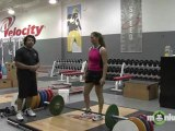 Strength Training - Pro Athlete Explosive Cleans