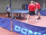 tennis de table Rencontre Neuville contre Vienne en val