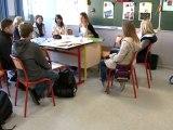 forum des métiers au collège Jean Rostand du Cateau