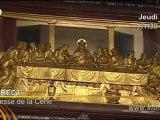 Messe de la Cène en direct de Rome le 5 avril 2012