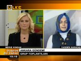3 Nisan 2012 Yasemin KARAKAŞ ülke tv Ankara Gündemi ni anlatıyor