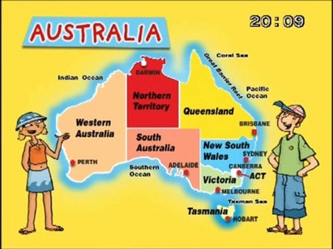 The Australian 6 states and 2 territories