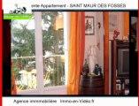 Achat Vente Appartement SAINT MAUR DES FOSSES 94100 - 65 m2