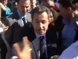 """Nicolas Sarkozy insulté  :  """"Pauvre con va ! On va te faire la mort dans les urnes !"""" Ile de la Réunion"""