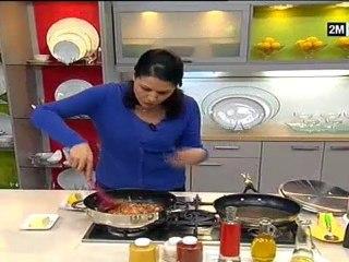 chhiwat choumicha - recettes de cuisine facile, cuisse de poulet Au Riz Caramélisée