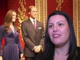 Kate et William rejoignent la famille royale chez Mme Tussauds