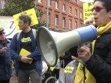 Régis Godec à la manifestation Ni pauvre Ni soumis Toulouse