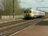 SNCB NMBS Jurbise and Ghlin (BE)