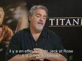 Cinéma : Titanic. Interview de John Landau. Les retours sur l'utilisation de la 3D sur le film Titanic.