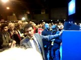 Manuel Valls au meeting de François Hollande à Rennes