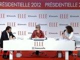 ELLE Présidentielle 2012 : Eva Joly : humour, écologie et lunettes noires...