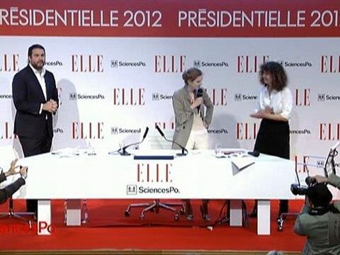 ELLE Présidentielle 2012 : Nicolas Sarkozy annule son intervention à Sciences Po, NKM chahutée