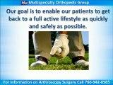 Arthroscopy Surgery Encinitas, Carlsbad CA 760-942-0565