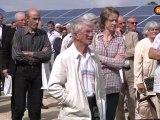 Le parc photovoltaique de la Génétouze